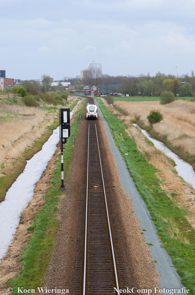 Bekijk de trein eens anders; Trein bij Hoogkerk