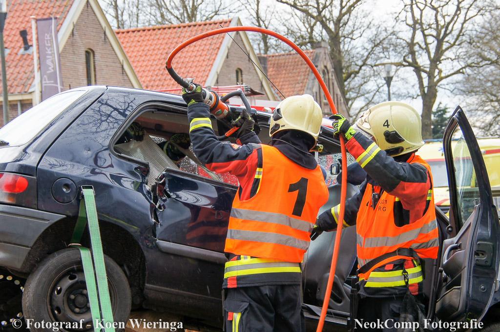 Regionale brandweerwedstrijden in Veenhuizen Klasse 112