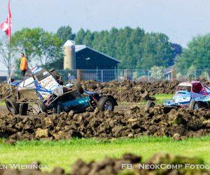 Pieterzijl NK Autocross; stofhappen, moddergooien en (c)rossen op de klei.