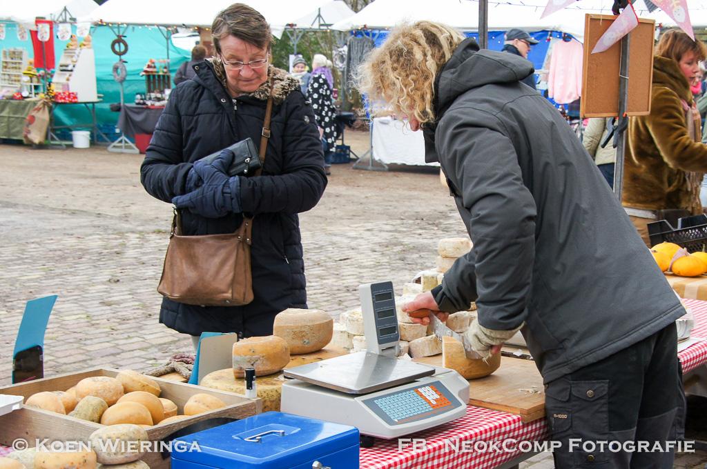 Alweer voor de laatste keer in 2017. Streekproductenmarkt Nienoord in Leek.