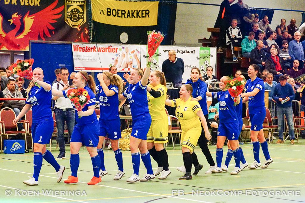 32e Leekster Voelbalgala prooi voor VEV'67 en dames VV Nieuw Roden.