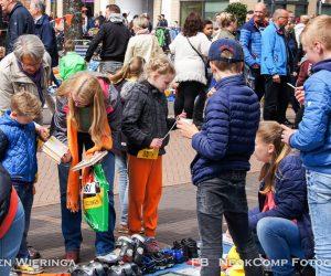 Koningsdag in Roden – Jong en oud genoot met volle teugen.