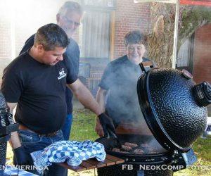 Streekmarkt bij Blakervelderhoeve tijdens evenement Fietstocht, Proef en beleef.