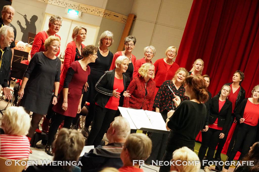 """""""Goud van Oud"""" met Harmonieorkest Noordenveld en Popkoor Puur."""