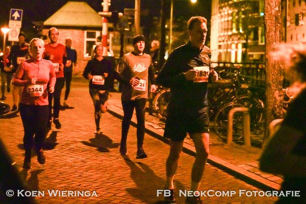 Nacht Van Groningen, succesvol hardloopevenement, maar mijn fotoproject is niet geslaagd.