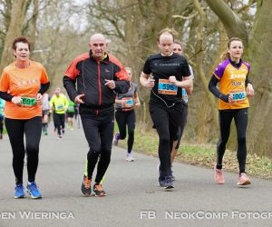 Halve Marathon van Haren, Gieselgeer is flinke kuitenbijter.