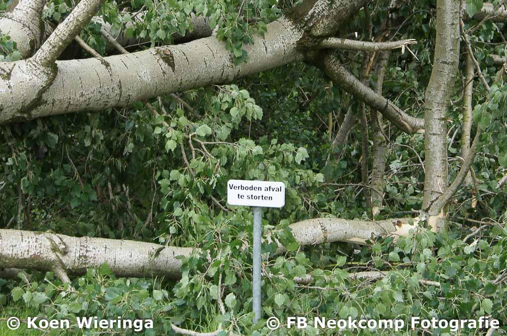 2019-06-04/04 Noordenveld, Code Oranje trekt RODE STREEP door Gemeente Noordenveld.