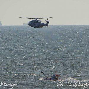 2019-08-06 KNRM Egmond oefent samen met Koninklijke Marine bij Egmond aan Zee.