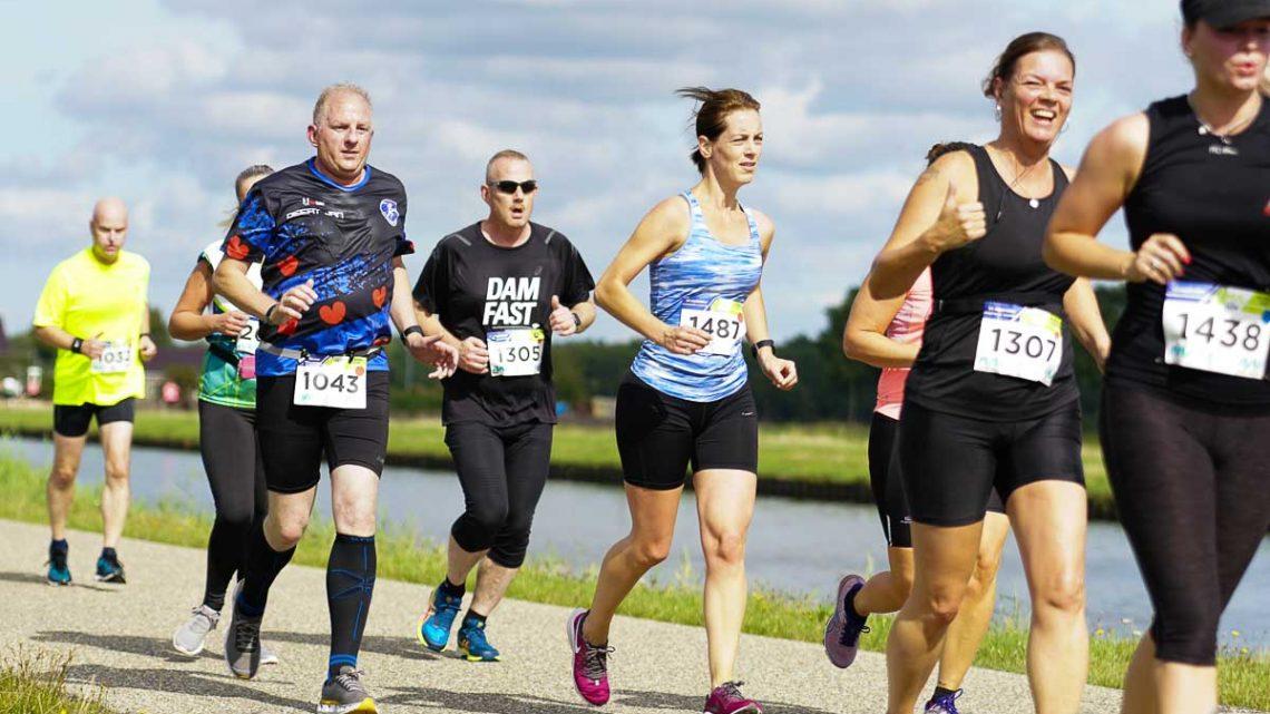 2019-09-14 Assen, 1000 runners lopen de 4 Mijl Van Assen