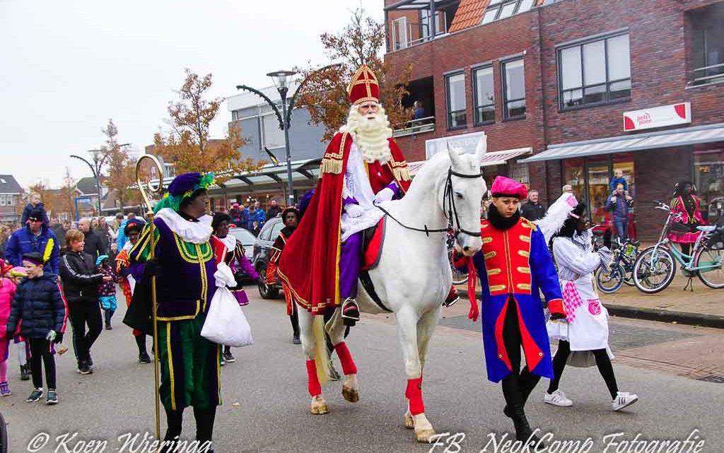 2019-11-16, Sinterklaas intocht in Roden weer één groot kinderfeest.