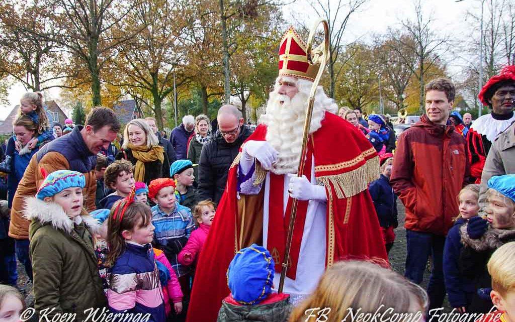 2019-11-23 Intocht Sinterklaas in Peize feest voor jong en oud.