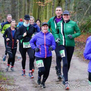 2020-02-02, 1e lustrum Mensinge Marathon start met positief ingesteld deelnemersveld in regenachtig Roden.