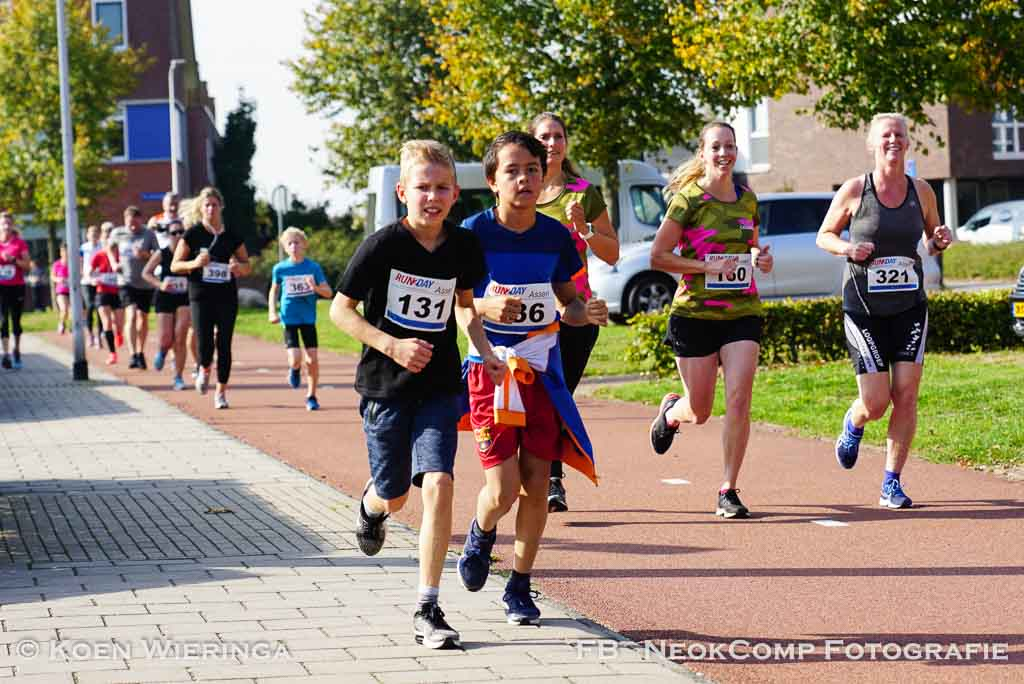 2018-10-06 Kloosterveste Run onder stralende omstandigheden (Assen).