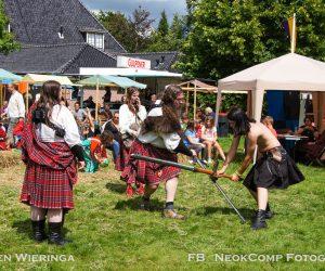 Fantasia Fest neergestreken op Landgoed Mensinge in Roden. (Dr).