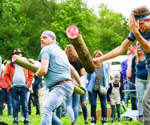 Highland Games en Nietap Fair in Natuurschoonbos tijdens 325 jaar Nietap-Terheijl
